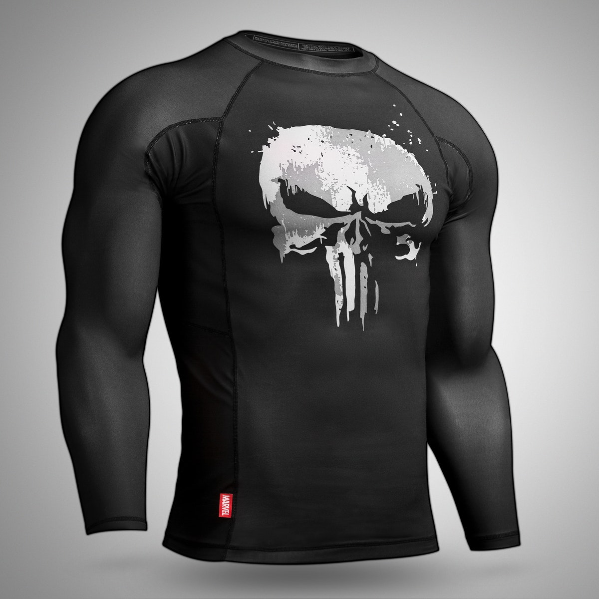 7d375c9d45a2 Marvel Hero Elite: Punisher LS Rash Guard by Hayabusa | Limited Ed ...
