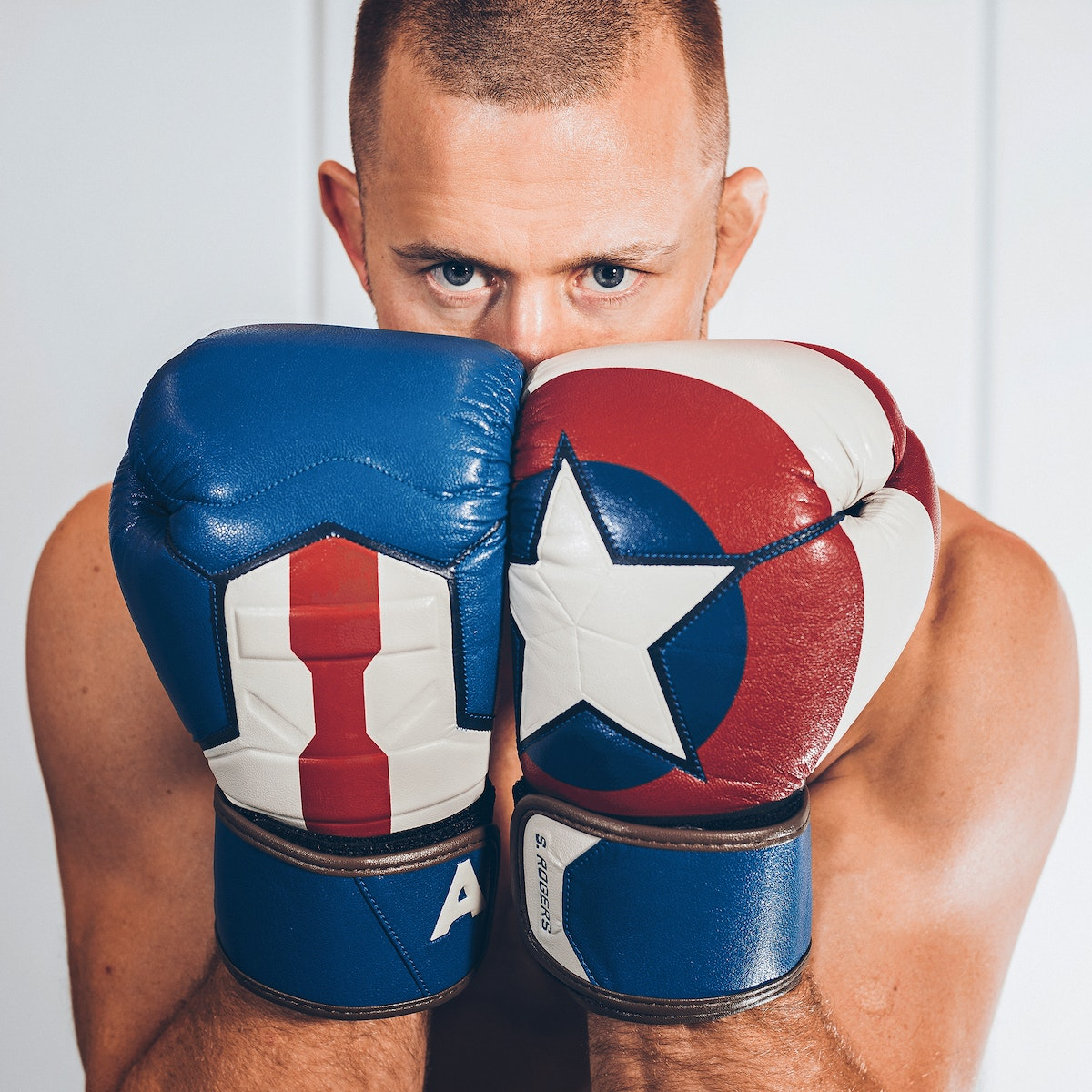 e01ab0f6d Limited Edition Marvel Hero Elite Series. Previous. Captain America Boxing  Gloves. click images to see gallery